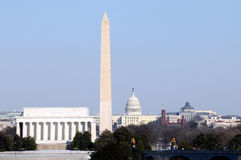 Washington monuments Stock Photography