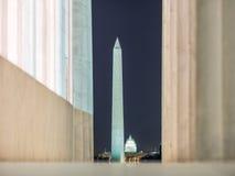 Washington Monuments Imagen de archivo