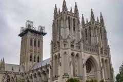 Washington National Cathedral imagem de stock