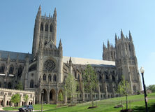 Washington National Cathedral 2007 royalty free stock photo