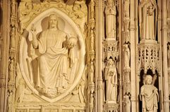 Washington National Cathedral Imagens de Stock Royalty Free
