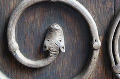 Washington National Cathedral - dettaglio della porta Fotografia Stock Libera da Diritti