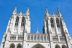 Washington National Cathedral. Is located in Washington, D.C., USA Stock Image