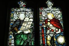 Washington National Cathedral - vetro macchiato Immagine Stock Libera da Diritti