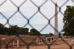 Washington National Mall Restoration Royaltyfri Fotografi