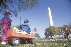 The Washington National Monument Royalty Free Stock Photo
