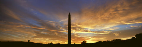 Washington National Monument Stock Photo