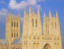 Washington-nationale Kathedrale, Str Stockfotografie