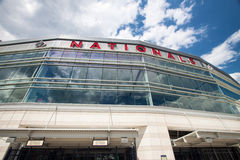 Washington Nationals Baseball Park DC Fotografering för Bildbyråer