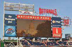 Washington Nationals Park Stock Photo