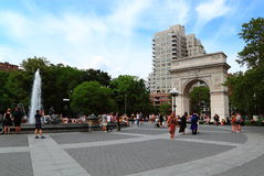 Washington New York quadrata Fotografie Stock Libere da Diritti