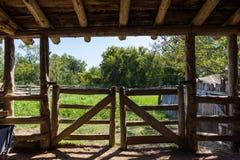 Washington no local histórico do estado de Brazos em Washington, Texa fotografia de stock royalty free