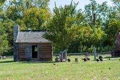 Washington no local histórico do estado de Brazos em Washington, Texa fotos de stock royalty free
