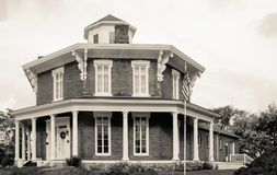 Washington Octagon House Royalty-vrije Stock Foto