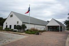 Washington-op-de-Brazos de bouw van het Bezoekercentrum in Texas royalty-vrije stock afbeelding