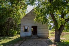 Washington op de Brazos-Historische Plaats van de Staat in Washington, Texa royalty-vrije stock foto