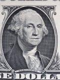 Washington på den 1 dollar anmärkningen, Förenta staterna royaltyfri foto