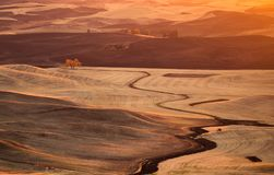 Washington Palouse foto de stock