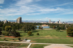 Washington Park in Denver, Colorado Stockbilder
