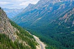 Washington Pass, Nordkaskaden Lizenzfreie Stockbilder