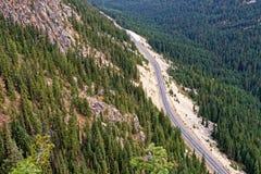 Washington Pass, North Cascades. Washington Pass outside North Cascades National Park Royalty Free Stock Images