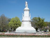 Washington Peace Monument April 2010 Photographie stock