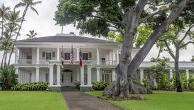 Washington Place, Honolulu Hawaii Stock Image