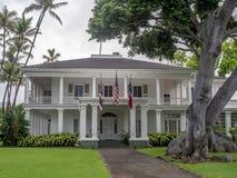 Washington Place n Honolulu Hawaii Royalty Free Stock Photos