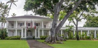 Washington Place n Honolulu Hawaii Stock Photo