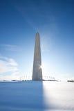 washington pomnikowa zima Zdjęcia Royalty Free