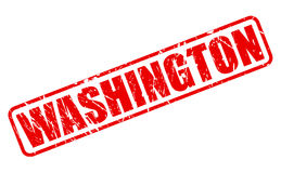 WASHINGTON red stamp text Royalty Free Stock Image