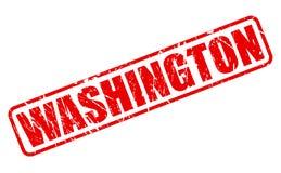 WASHINGTON red stamp text Royalty Free Stock Image