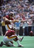 Mark Mosely. Washington Redskins kicker Mark Mosely.  Image taken from color negative Stock Photo