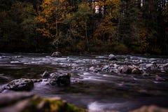 Washington River, courbure du nord, Washington Image stock