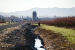 Washington Rural Canal Royalty Free Stock Image