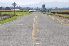 Washington Rural Road Royalty Free Stock Photos