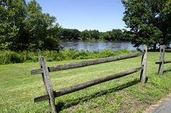 Washington's Crossing. The site where on December 26, 1776, General George Washington led the Continental Army across the Delaware River and on to a decisive Royalty Free Stock Images