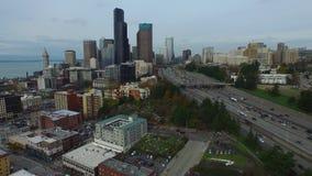 Washington Seattle aéreo metrajes