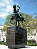 Washington The Simon Bolivar Monument 2010 Royalty Free Stock Images