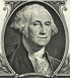 GEORGE WASHINGTON SMILING DOLLAR BILL Stock Photos