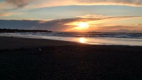 Washington-Sonnenuntergänge Lizenzfreies Stockfoto