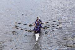 Washington springer i huvudet av Charles Regatta Menss mästerskap Fours Royaltyfri Bild