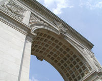 Washington Square. Entrence of Washington Square Park Royalty Free Stock Image