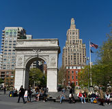 Washington Square Royalty Free Stock Photo