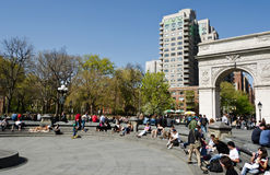 Washington Square Royalty Free Stock Image