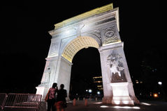 Washington square arch Royalty Free Stock Images
