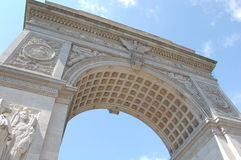 Washington Square Arch Royalty Free Stock Photo