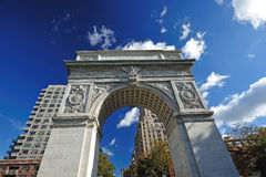 Washington square arch Stock Photos