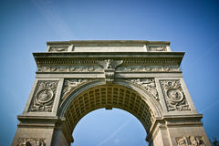 Washington Square Arch Stock Photo