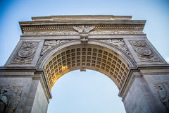 Washington Square Arch Royalty Free Stock Photography